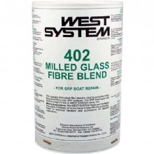 West System 402 Milled Glass Fibre Blend for GRP Boat Repair 150g